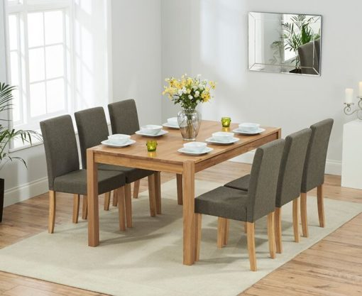 Promo 150cm solid oak Dining Table 4