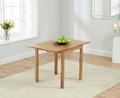 Promo solid oak Rectangular Extending Dining Table 1