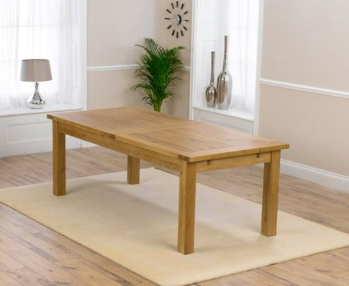 Rustique dining table classical solid oak 310 5