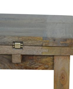 Artisan Trilogy Hardwood Coffee Table with 1 Shelf 5