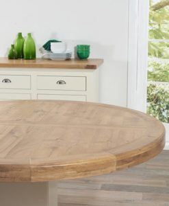turin 150cm round dining table 3