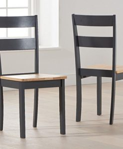 mara oak and dark grey with chichester chairs 1